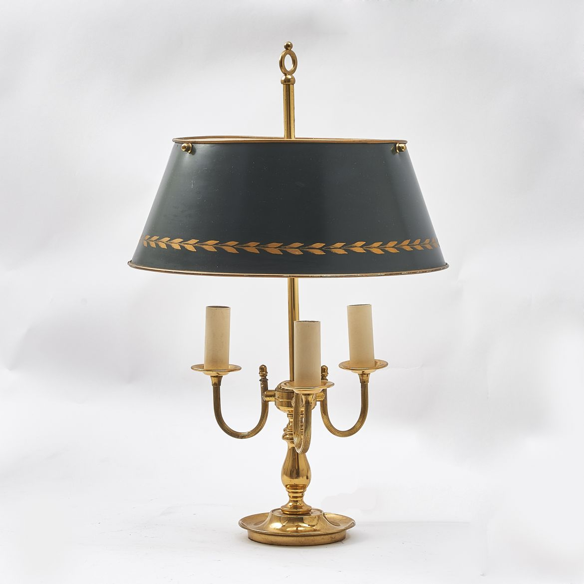 Three Light Bouillotte Lamp