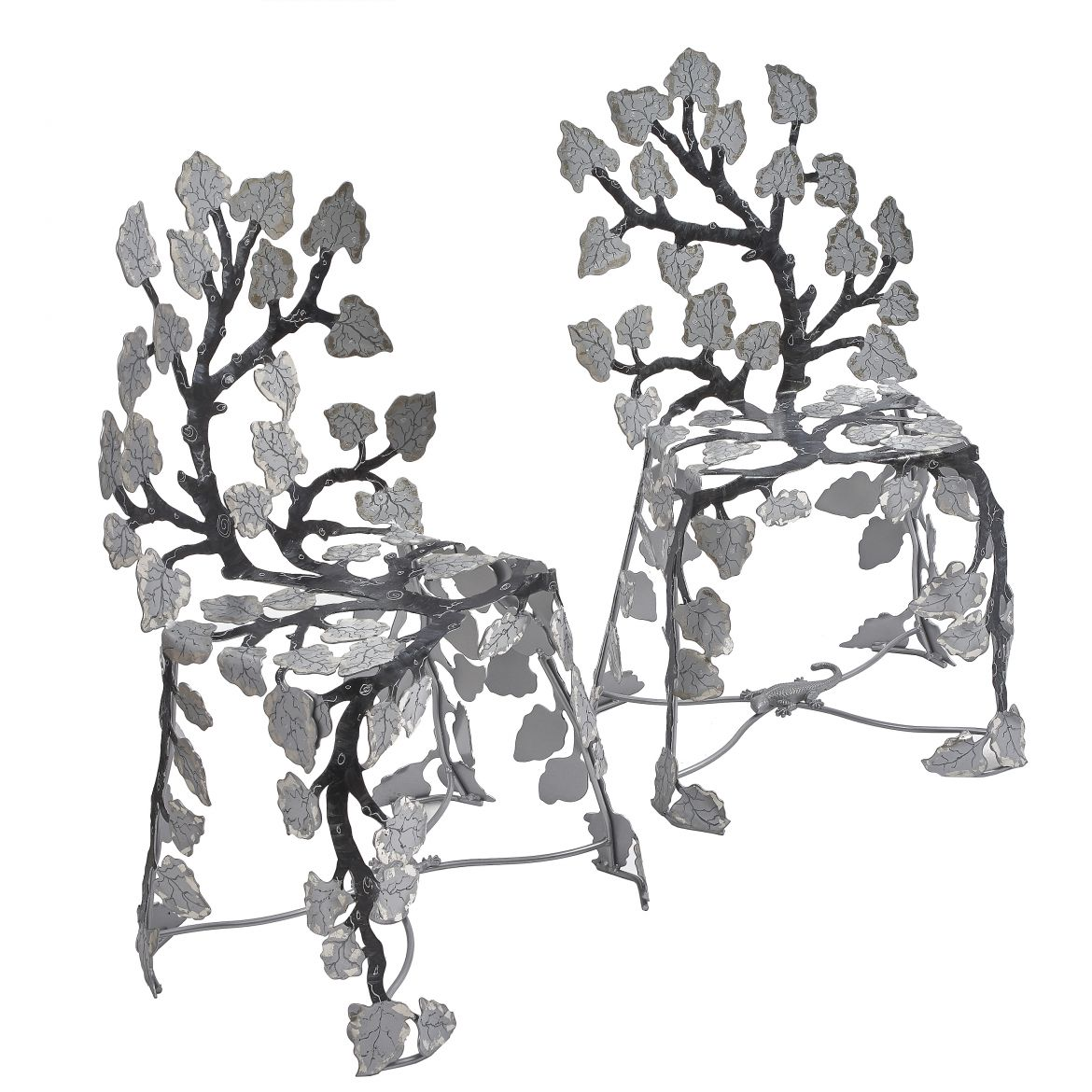 Pair Joy De Rohan Chabot Chairs