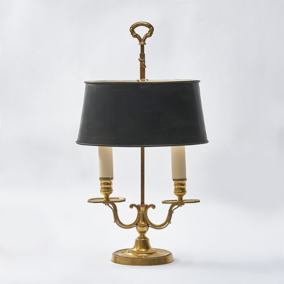 Twin Light Bouillotte Lamp