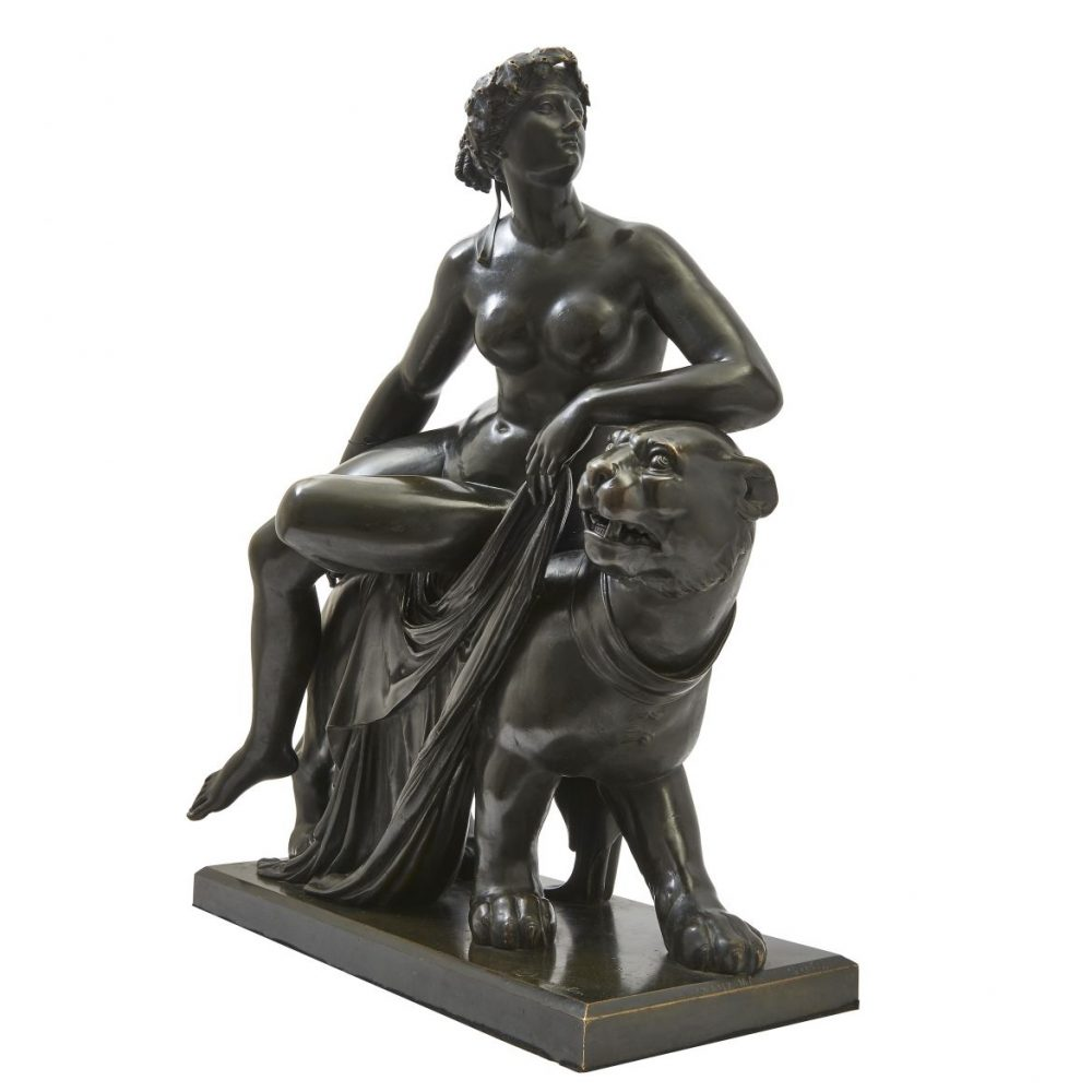 Diemiecher Bronze of Ariadne on the Panther
