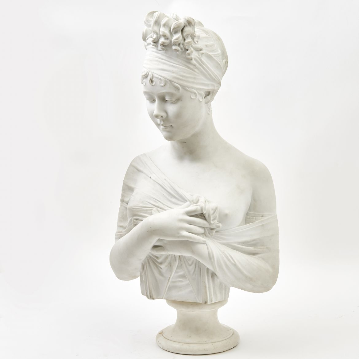 Marble Bust of Madame Recamier