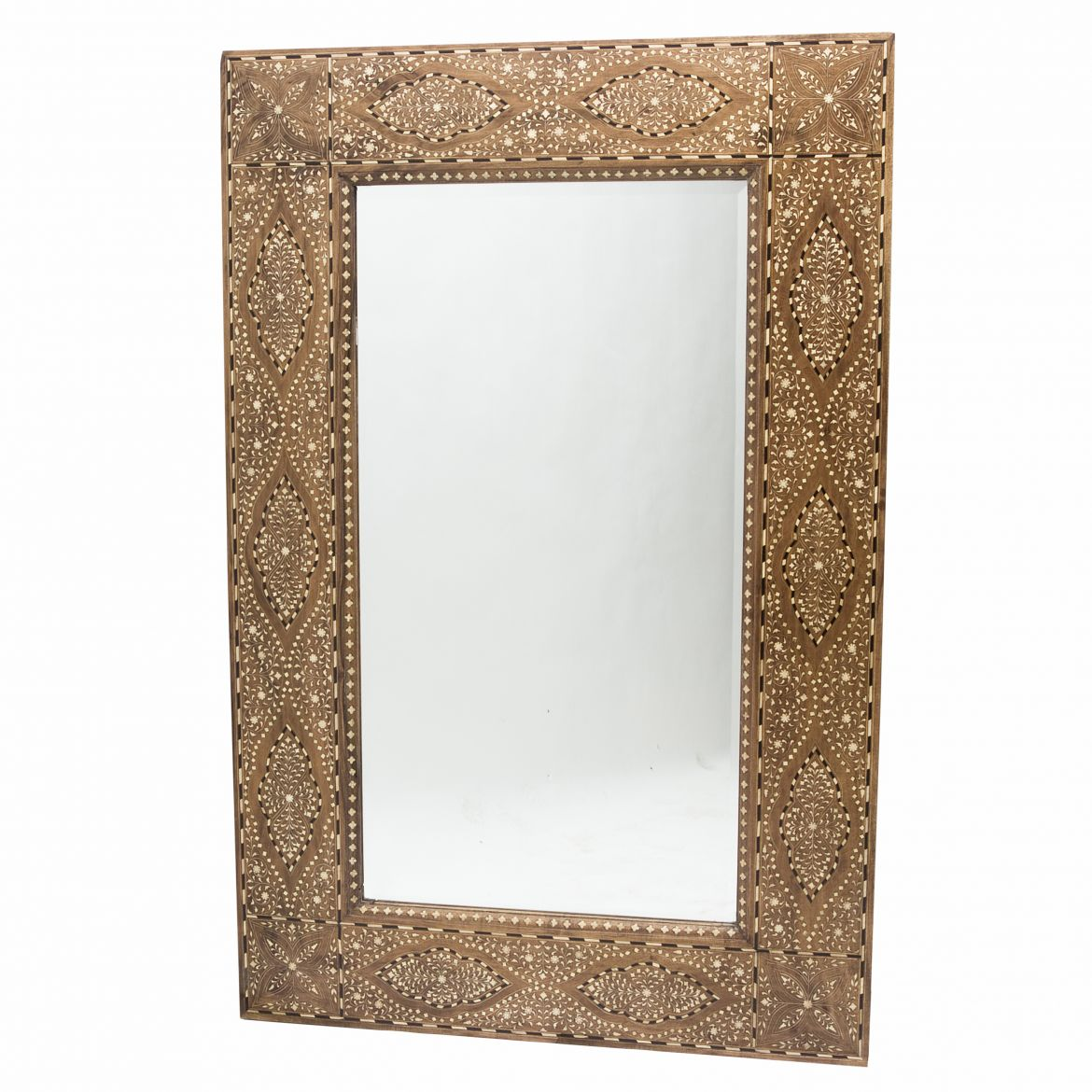 Arabesque Inlaid Mirror