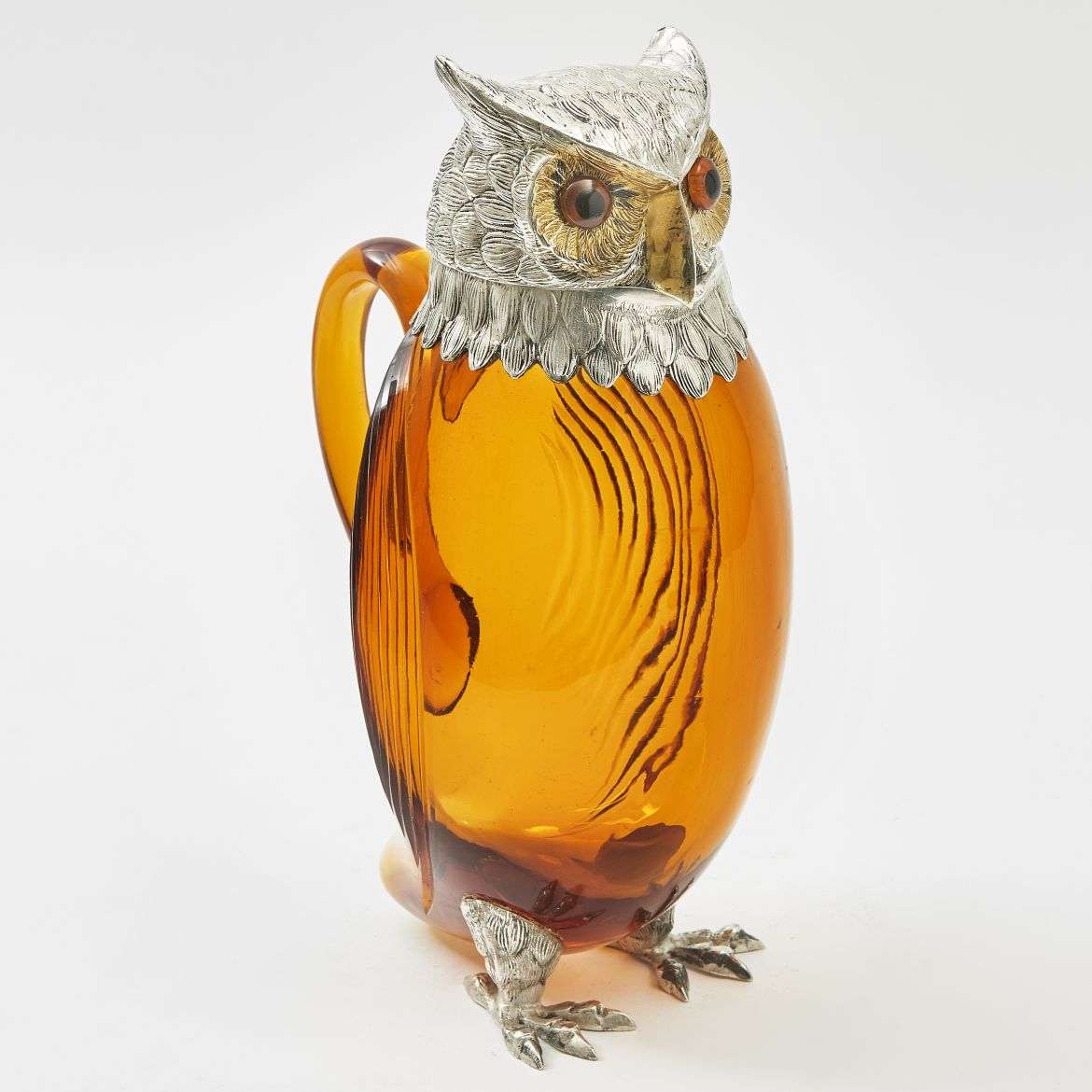 French Owl Shaped Jug