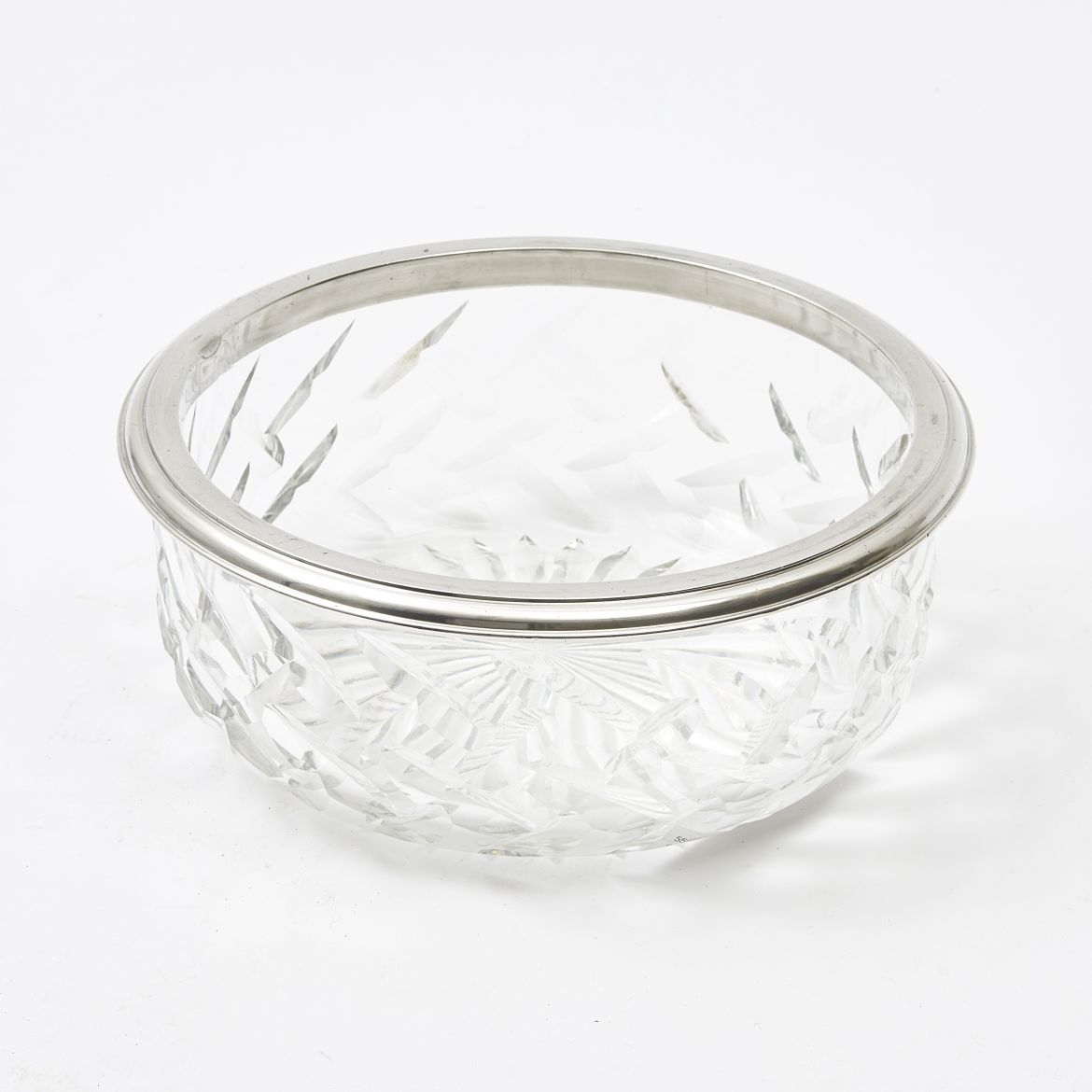 French Crystal Fruit Bowl