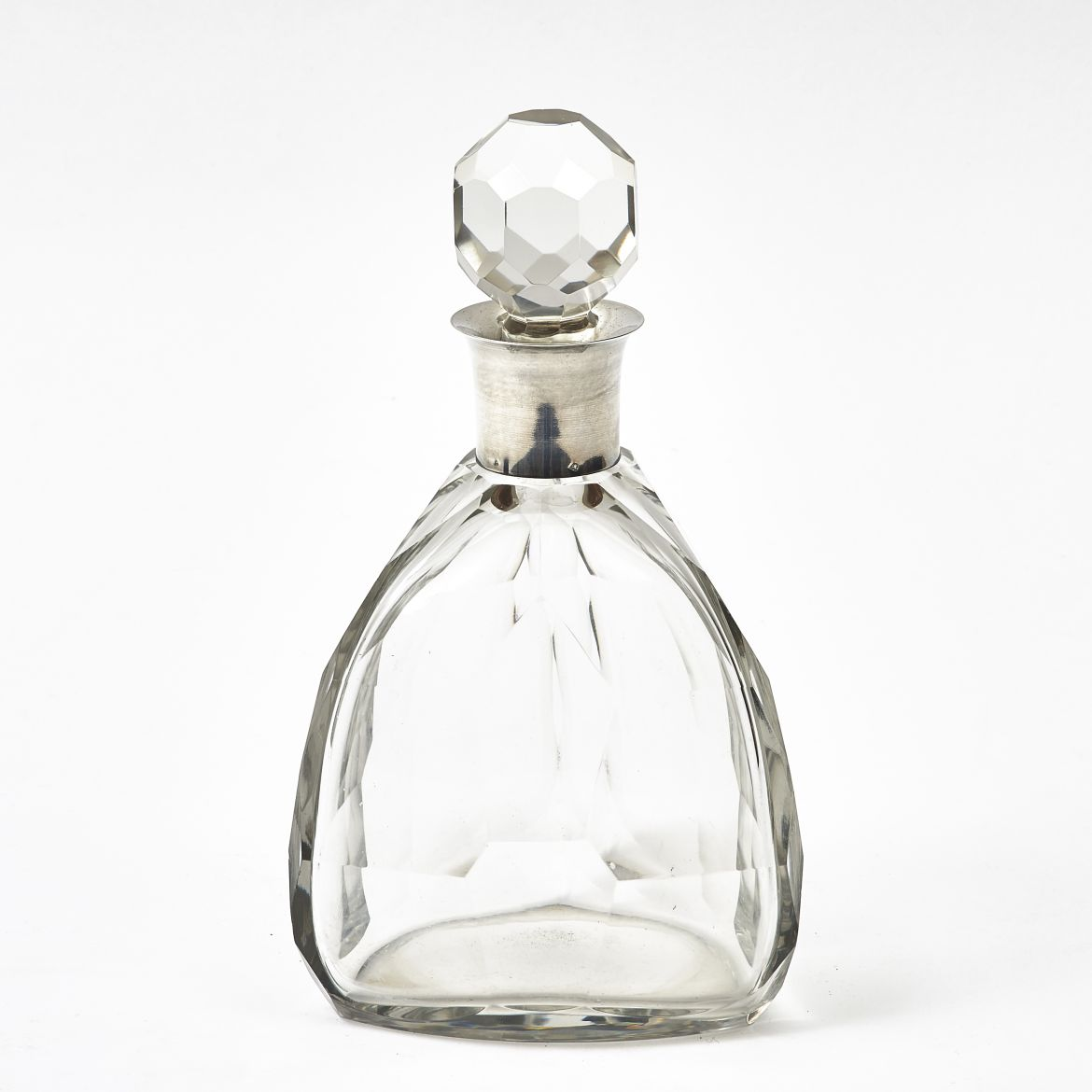 Art Deco Silver Mounted Decanter