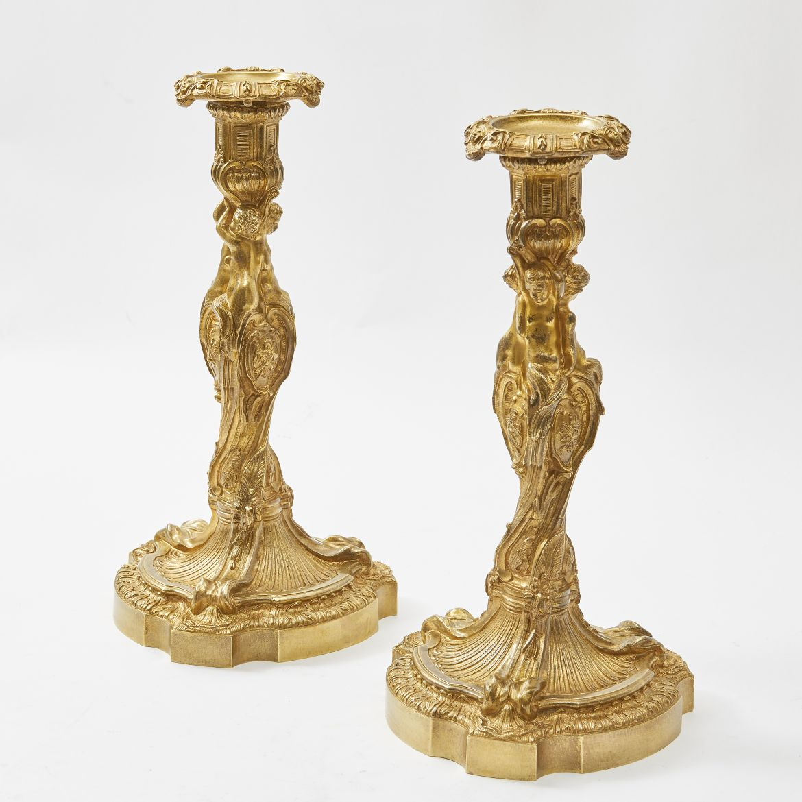 Pair Louis XVI Style Candlesticks