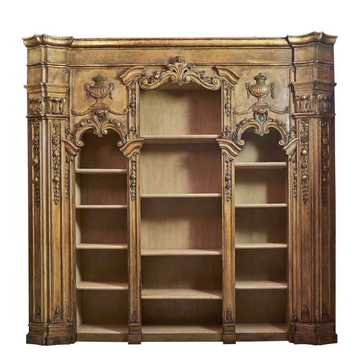 Venetian Baroque Bookcase