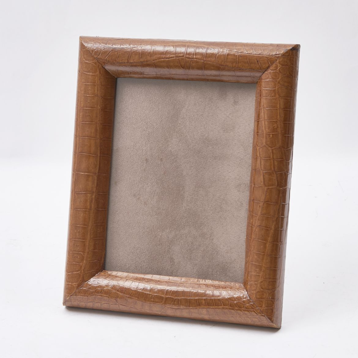 English Crocodile Skin photo Frame