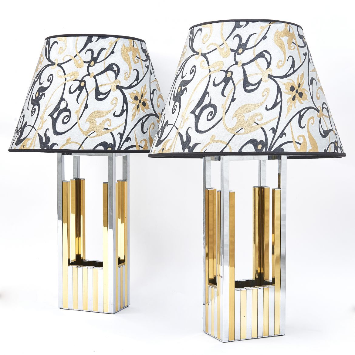 Pair Romeo Rega Lamps