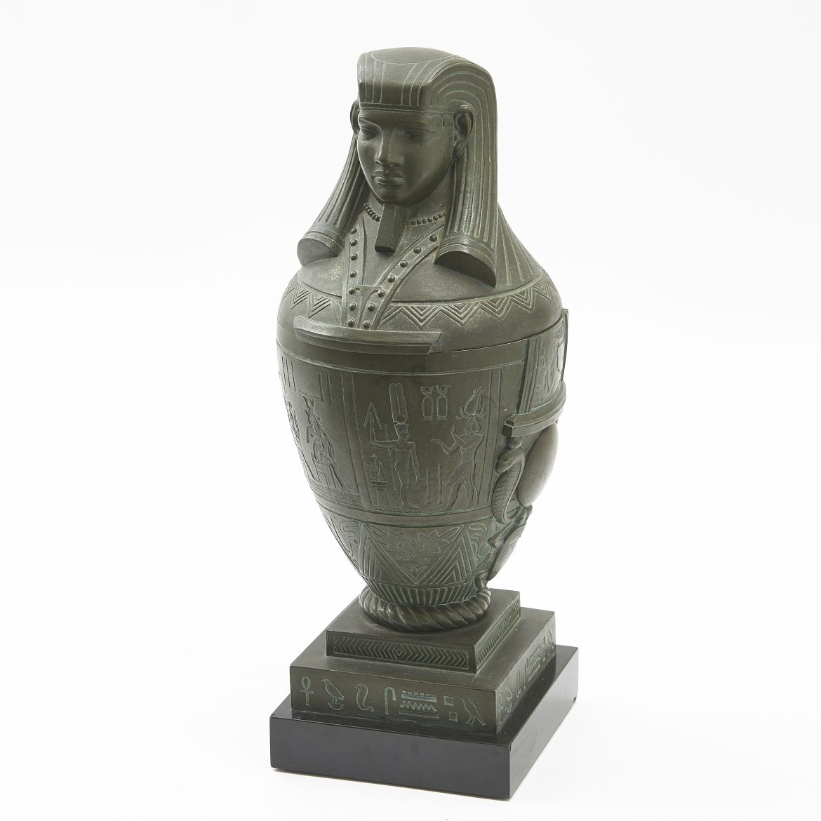 Bronze Canopic Jar