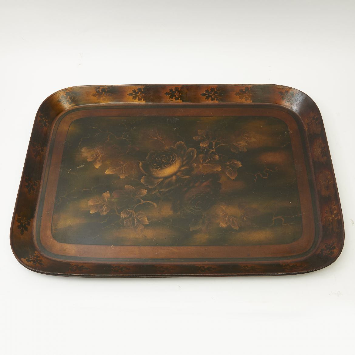 English Regency Papier Mache Tray