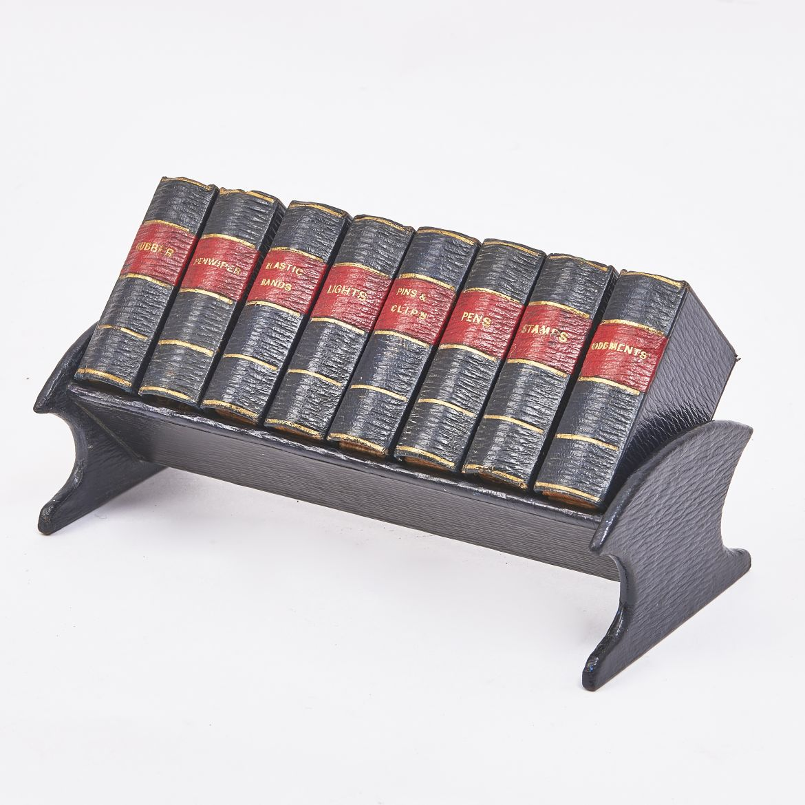 Edwardian Book Form Desk Tidy