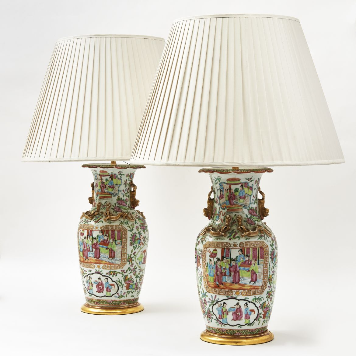 Chinese Canton Lamps