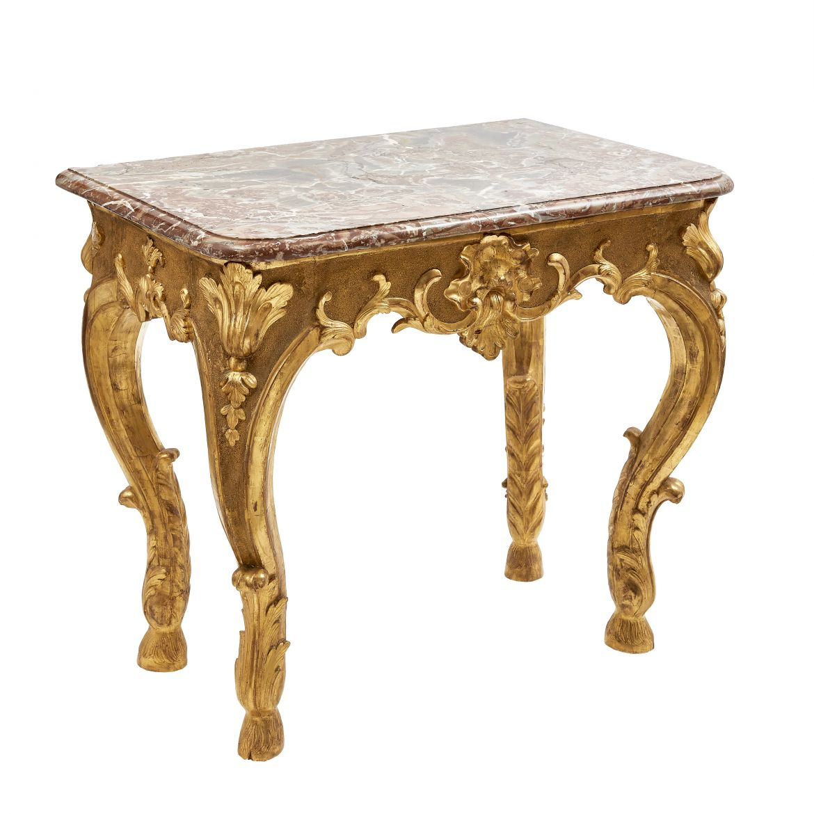 Early Louis XV Giltwood Console