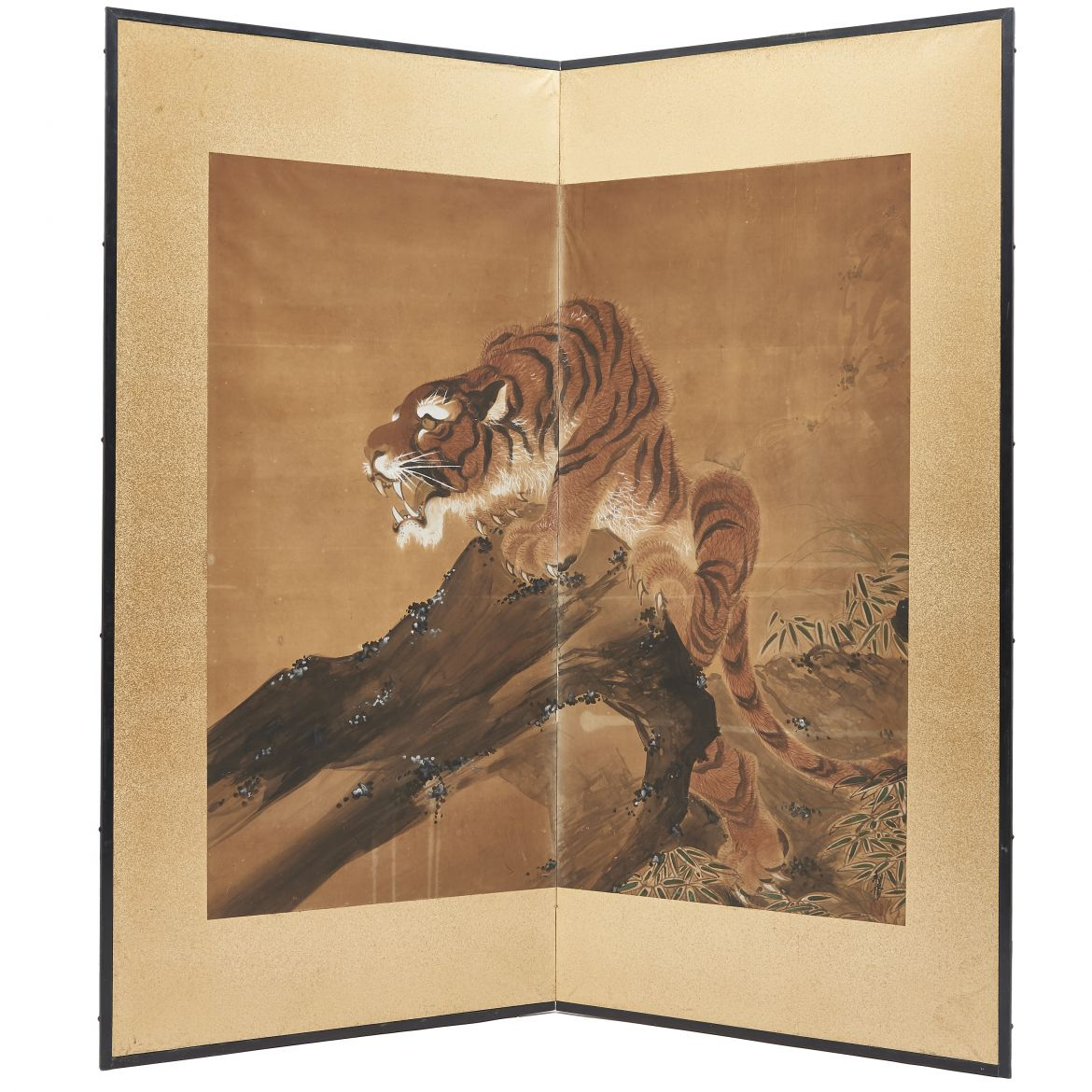 Japanese Paper screen Screen of Tiger