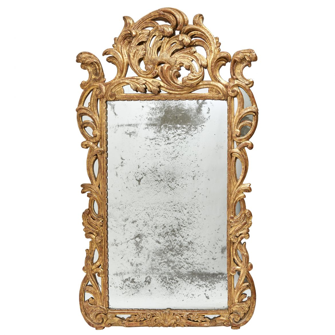 French Provincial Giltwood Mirror
