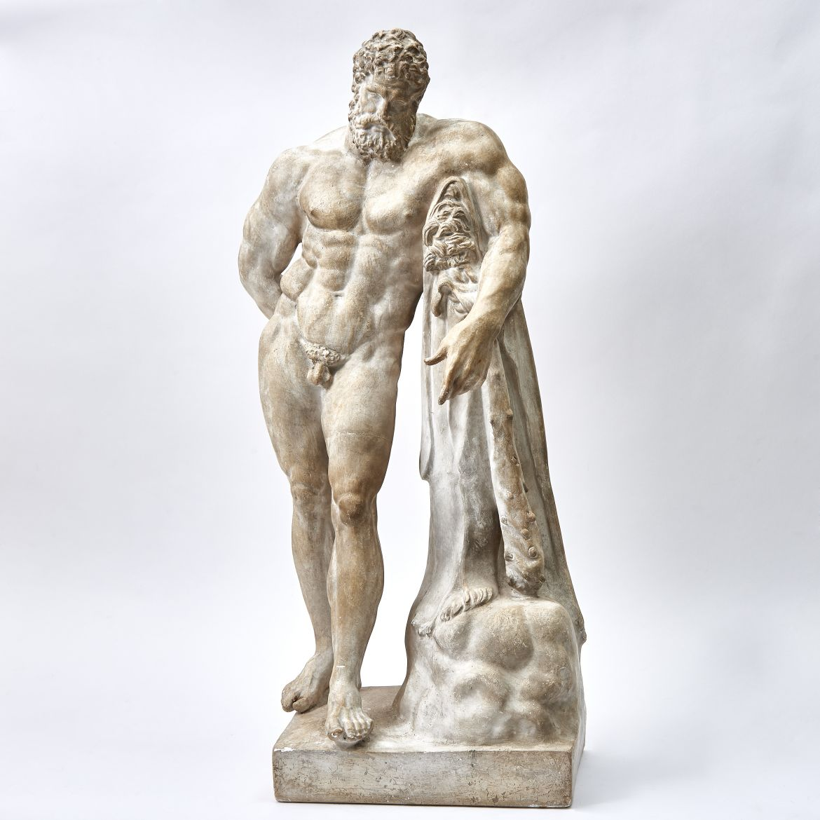 Italian Plaster Of The Farnese Hercules