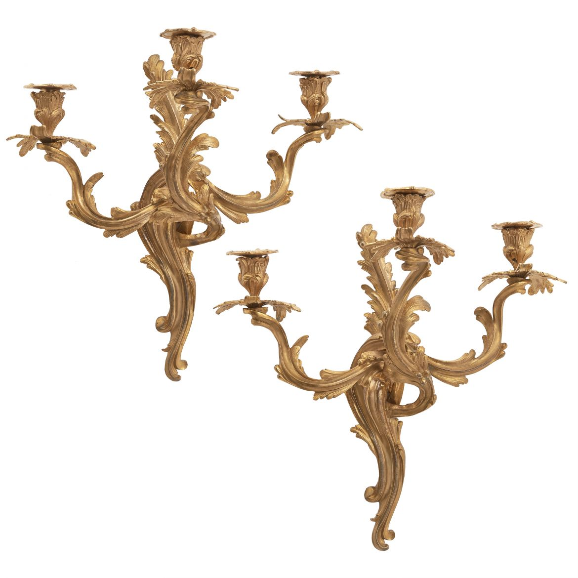 Louis XV Style Wall Sconces