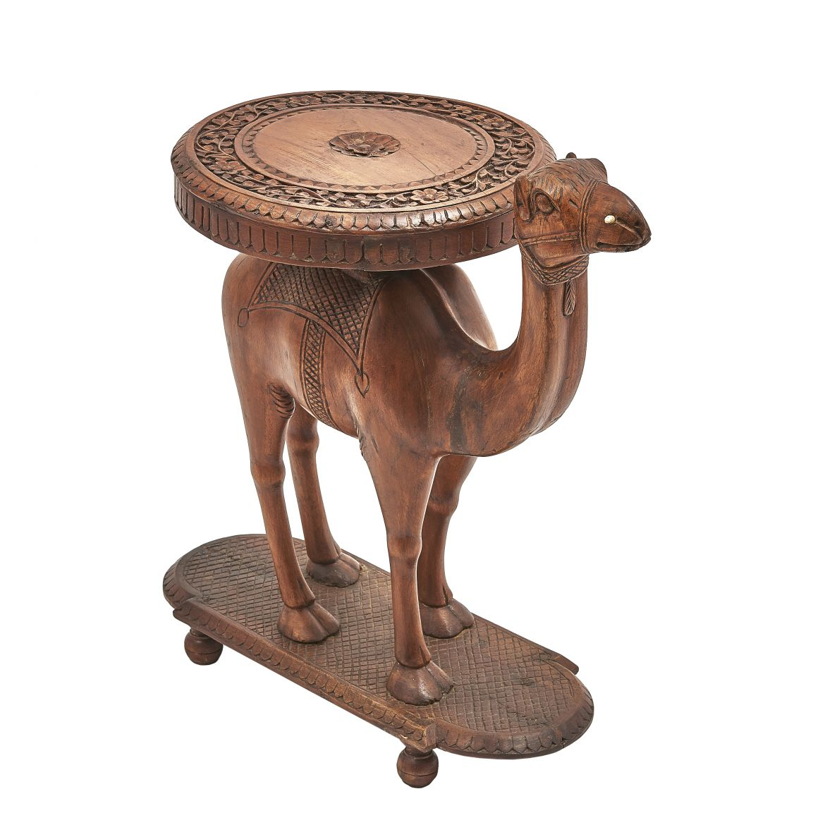 Rosewood Camel Table