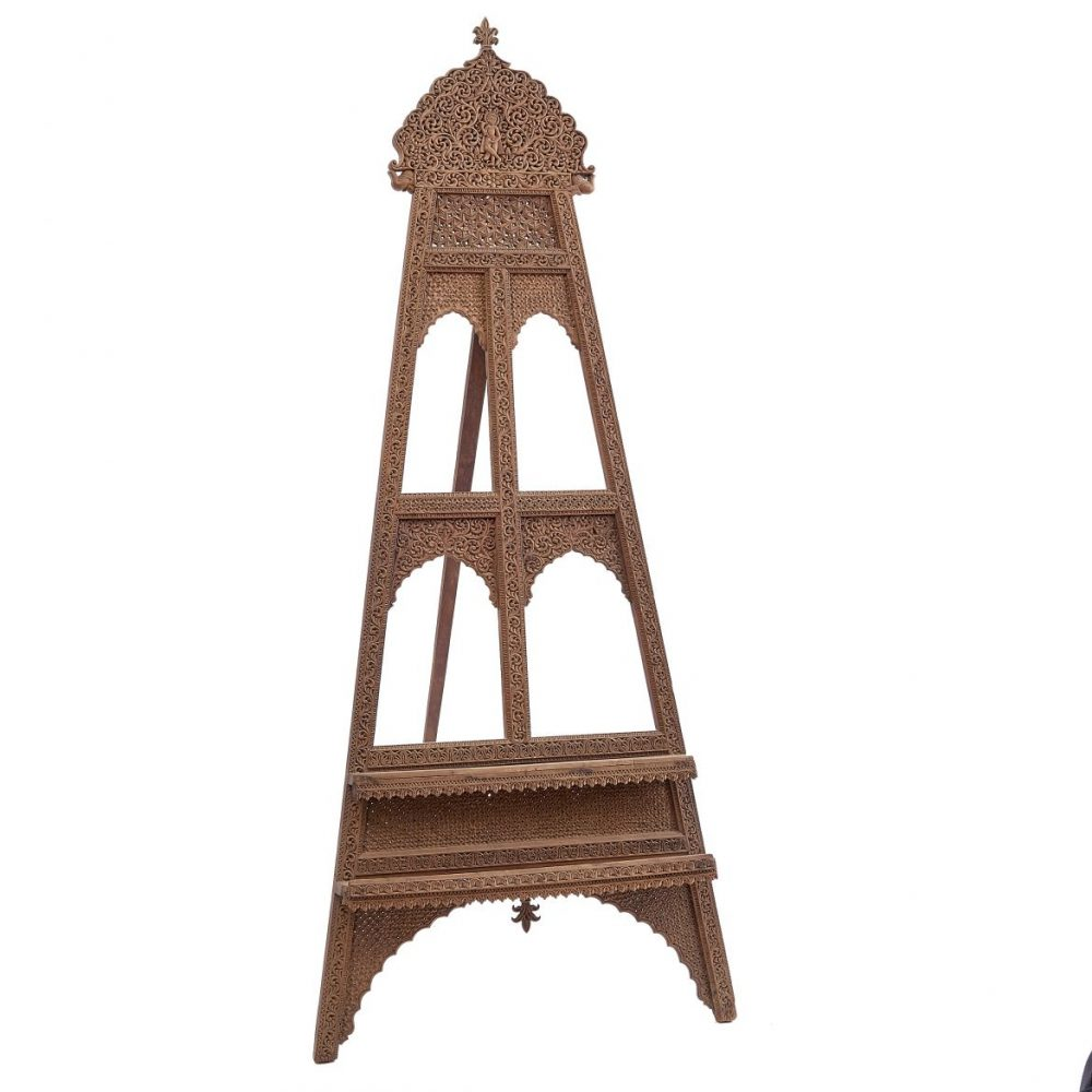 Indian Carved Easel