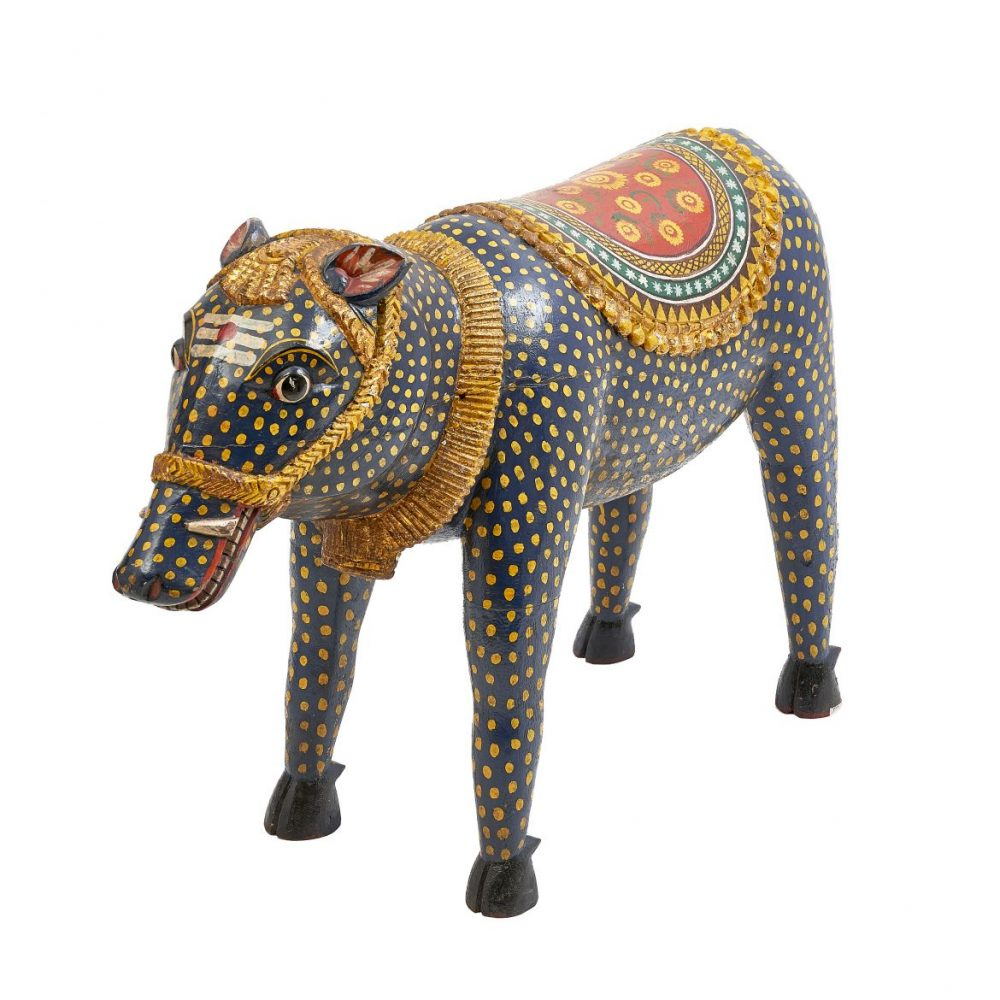 Indian Ceremonial Painted Boar