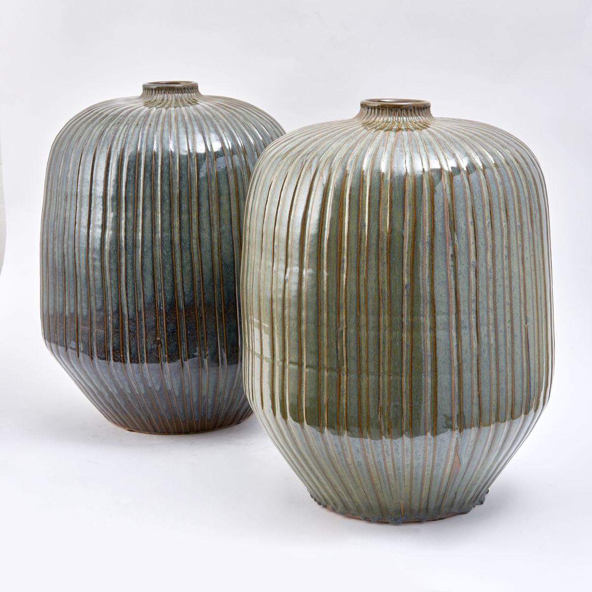 Thai Green Glaze Jars