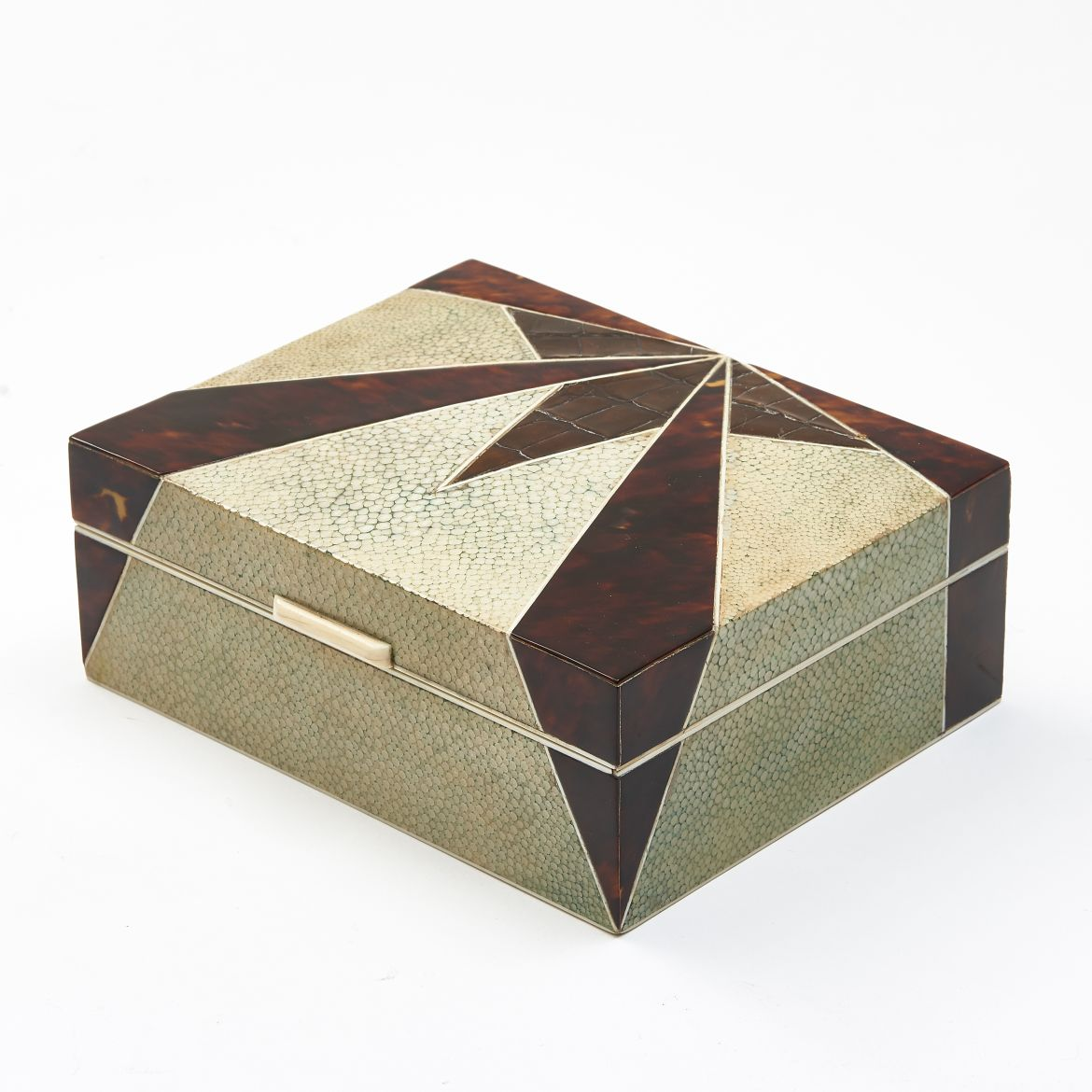 Art Deco Asprey Shagreen Box