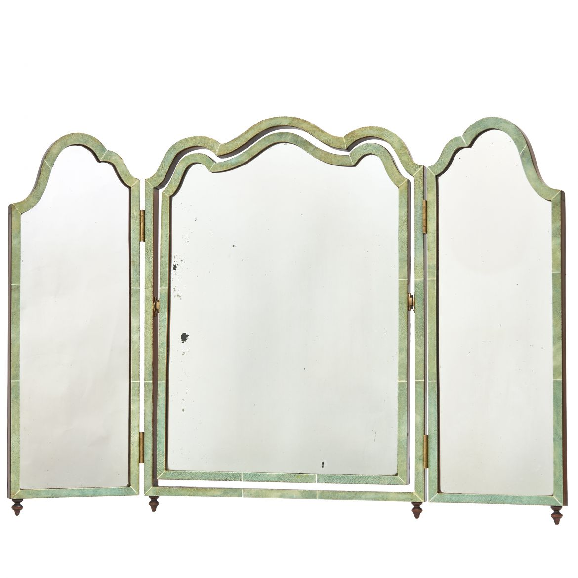 Edwardian Shagreen Mirror