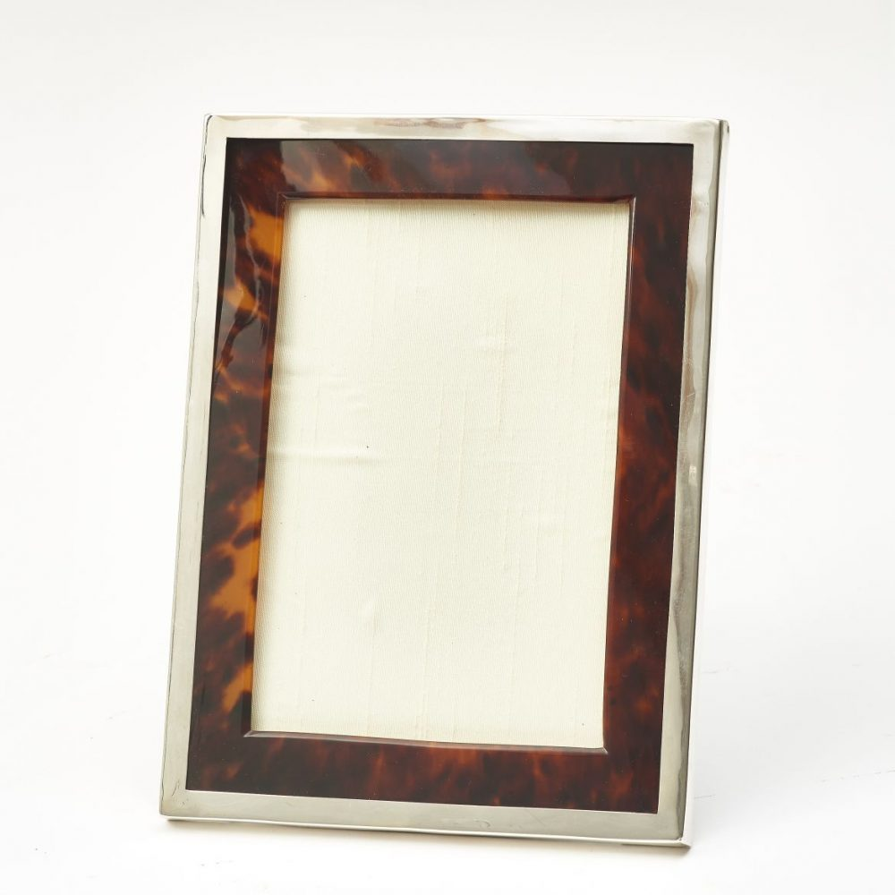 Walker and Hall Tortoiseshell photo Frame
