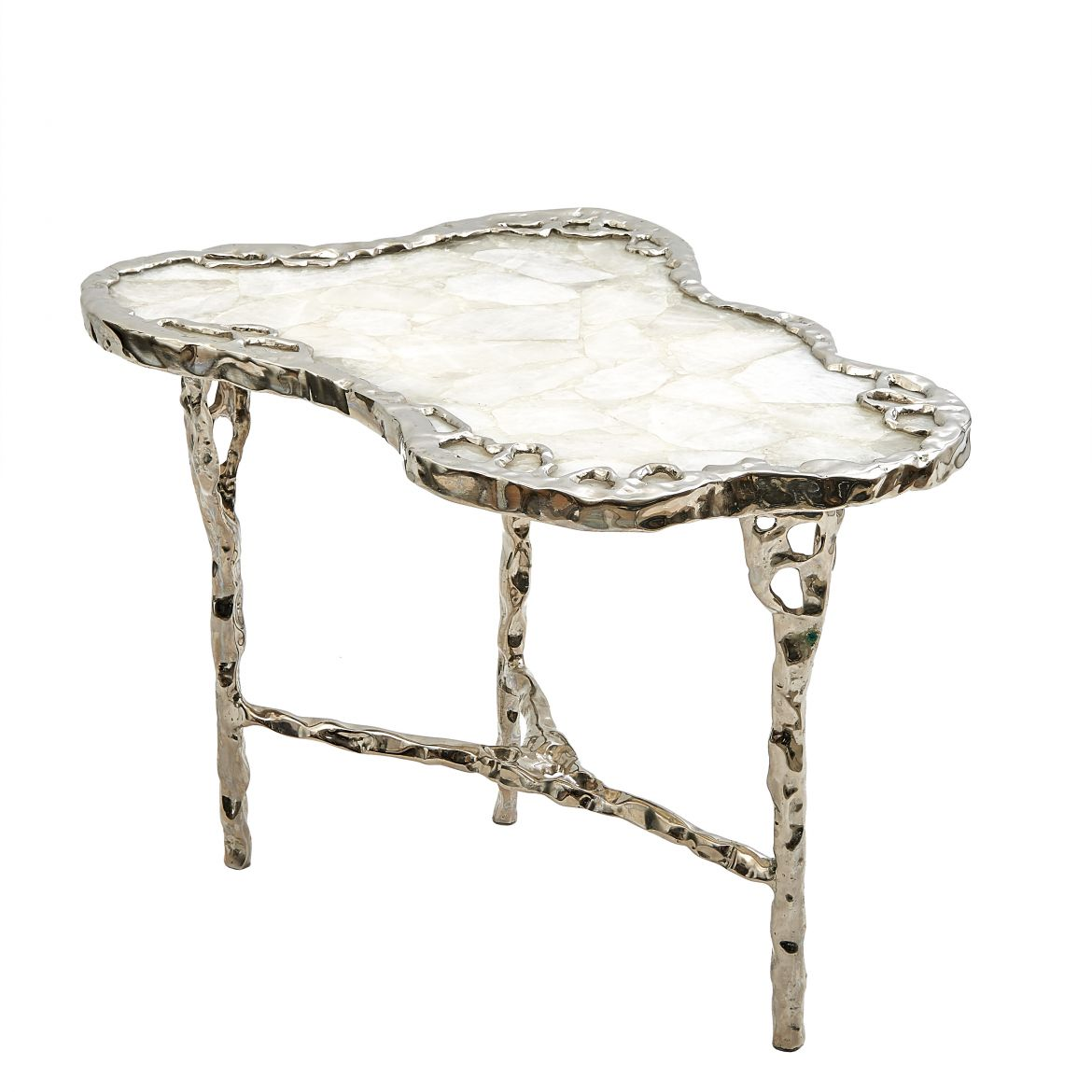 Arriau Biomorphic Rock Crystal Table