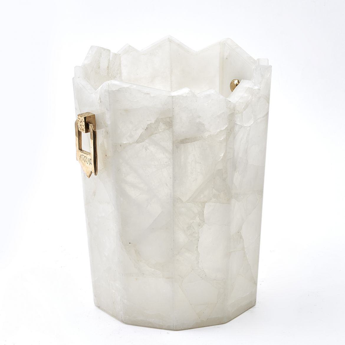 Arriau Rock crystal Champagne Bucket