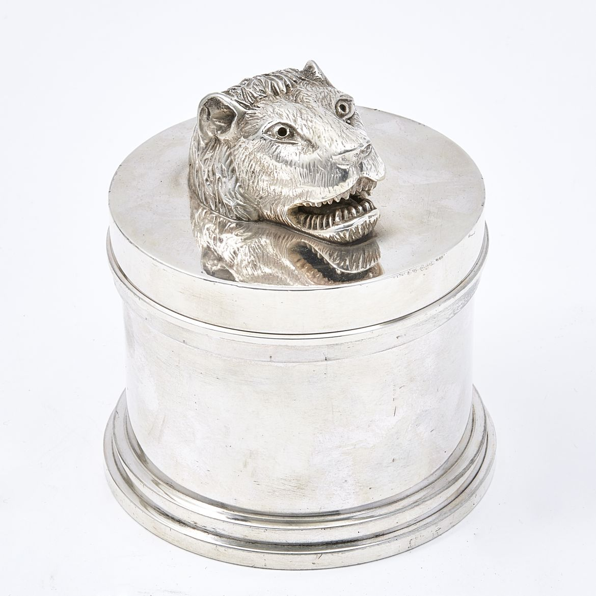 Silver Plate Dunhill Tobacco Jar