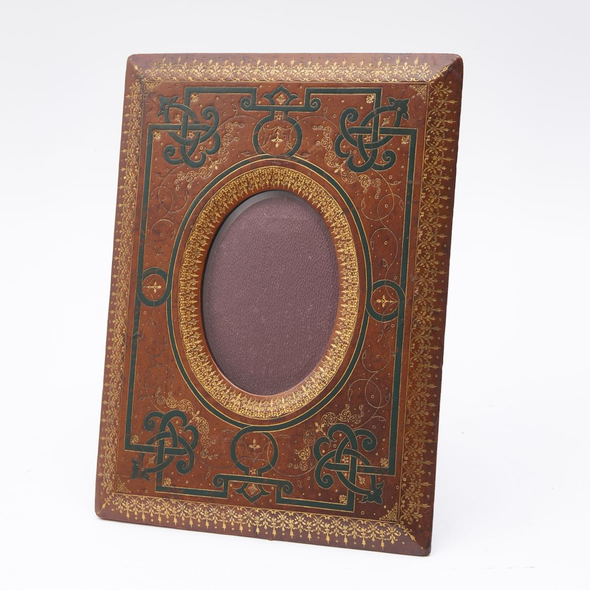 Tooled Leather Frame