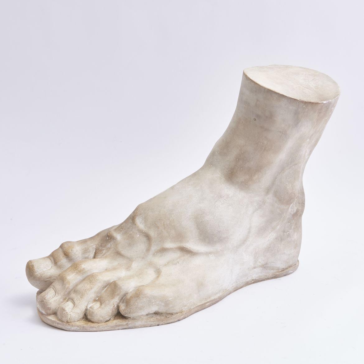 Large Italian Plaster foot