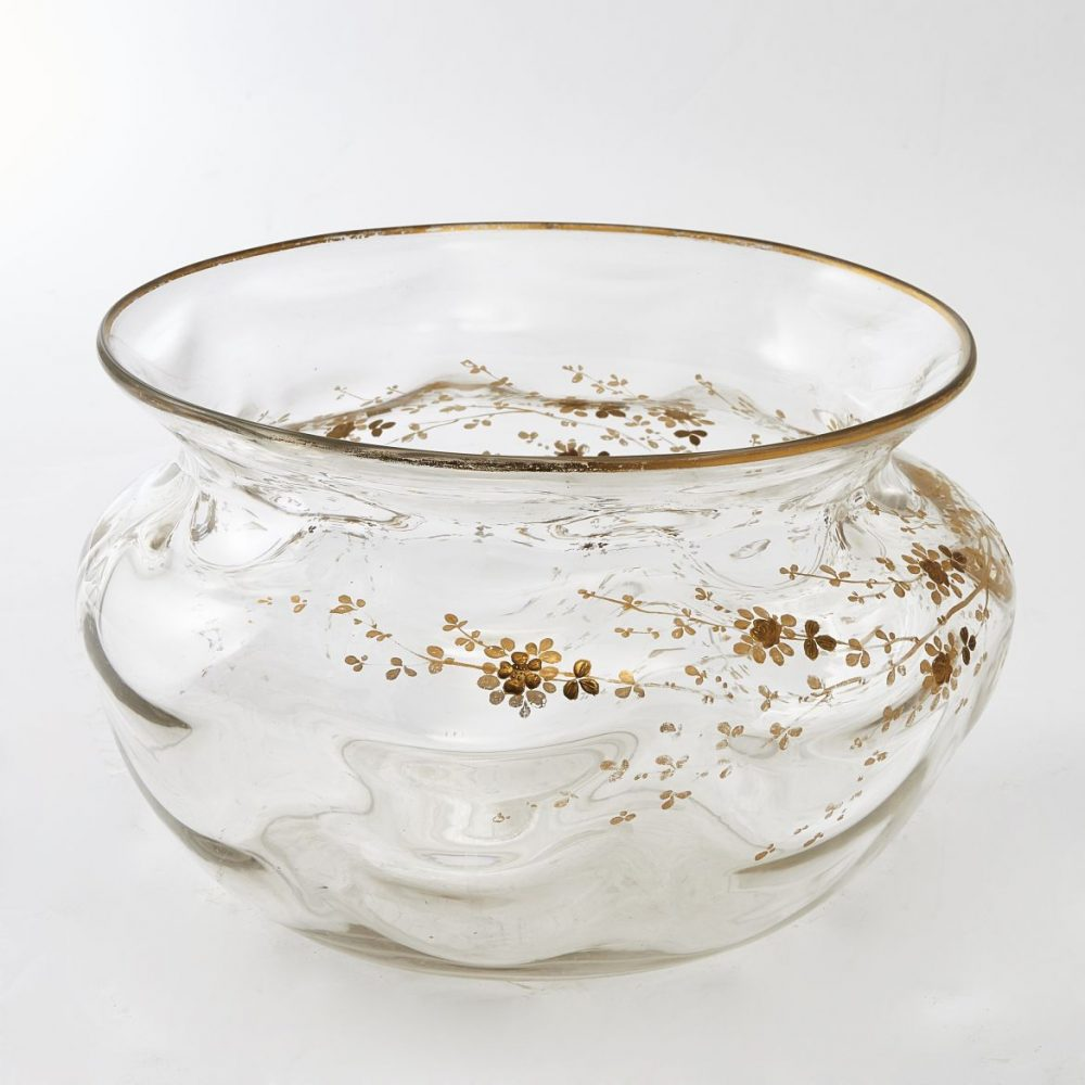 French Gilt Decorated Bowl