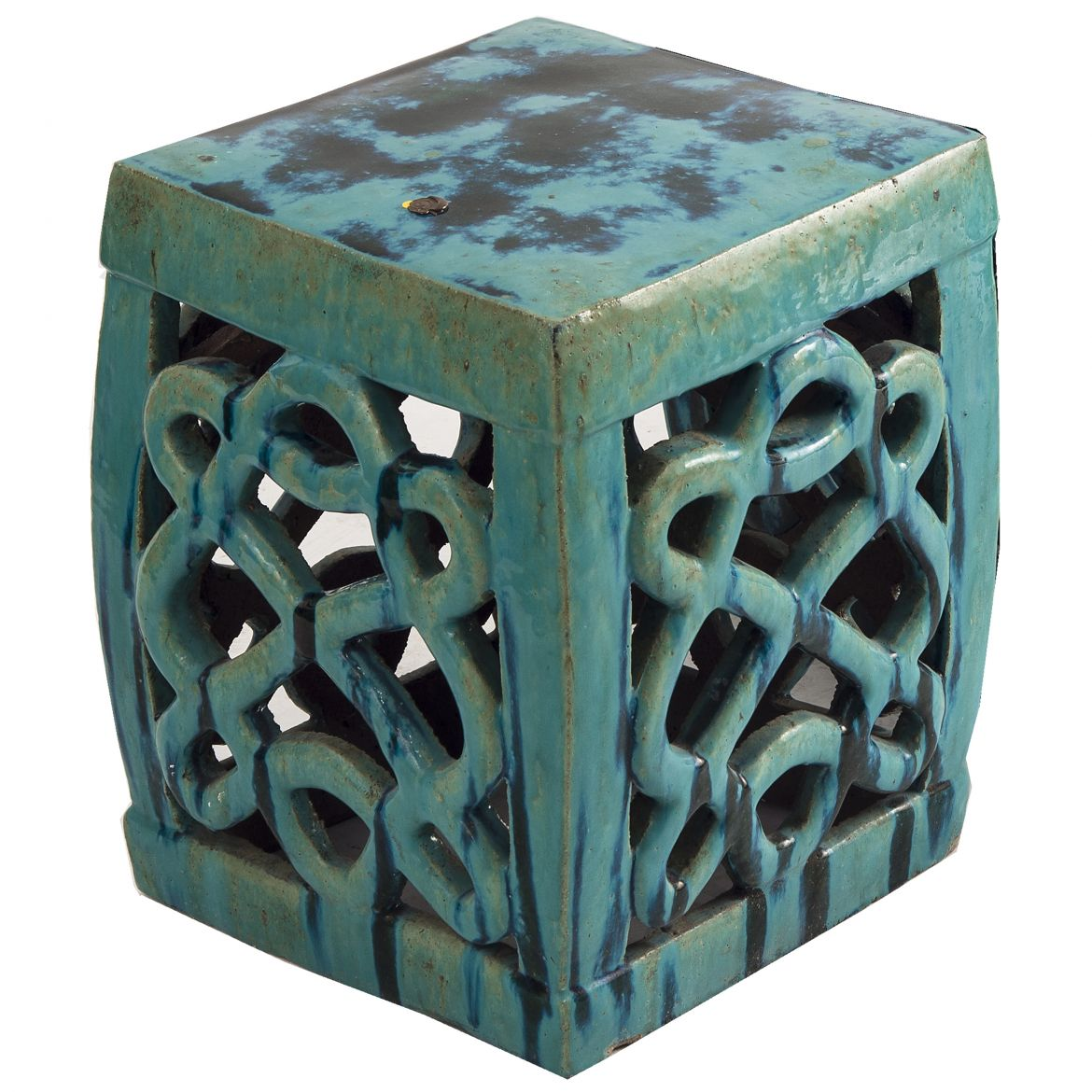 Chinese Glazed Stool