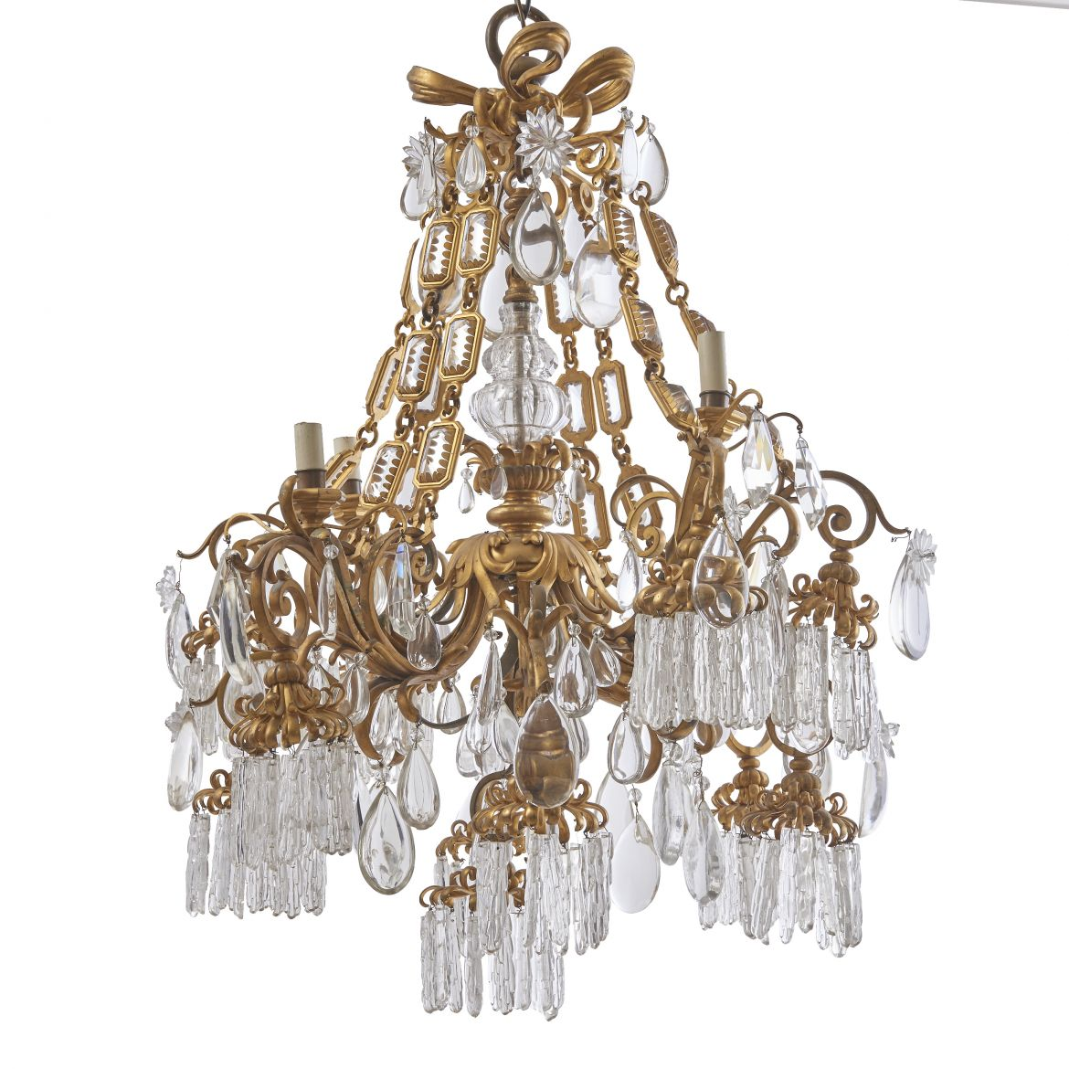 French Belle Époque Chandelier