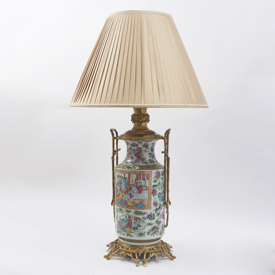 Large Chinese Canton Lamp