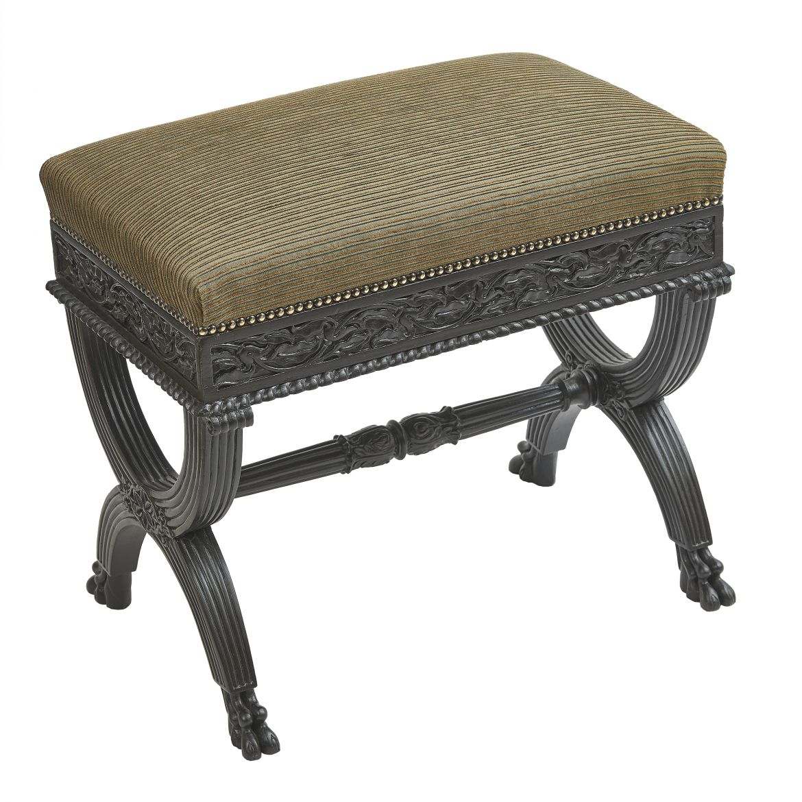 Ebonised Rosewood Stool