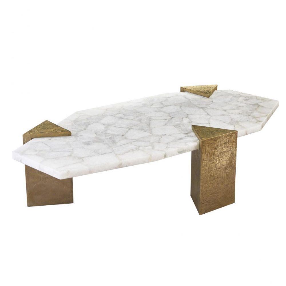Arriau Lanvin Design Rock Crystal Table