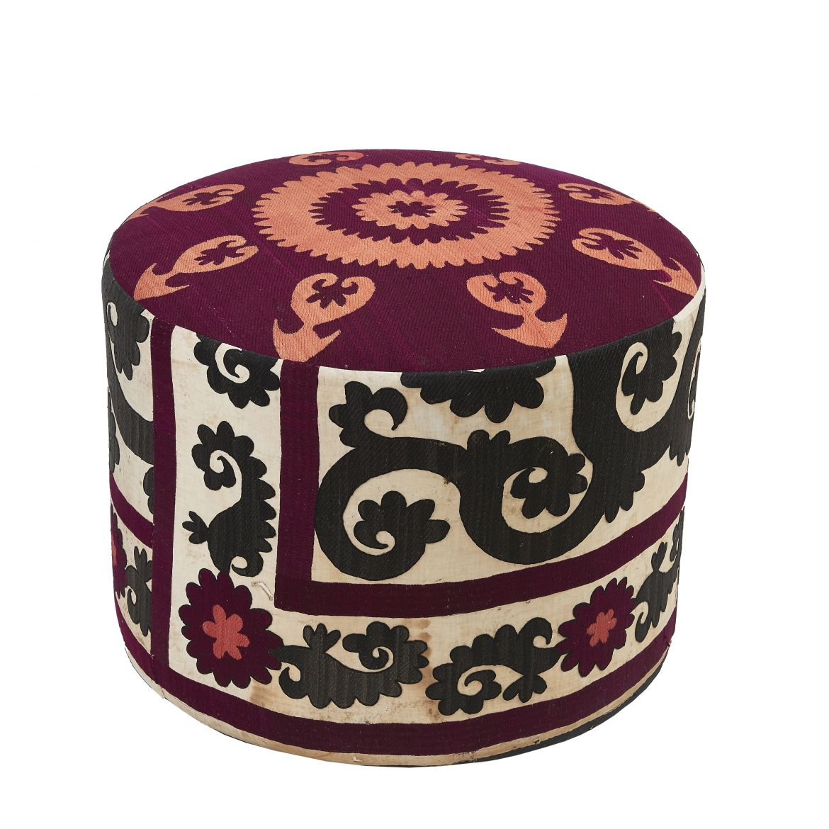 Suzani Fabric Stool