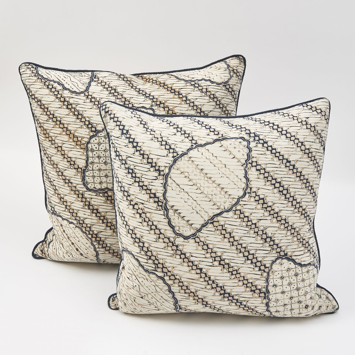 Indonesian Print Cushions