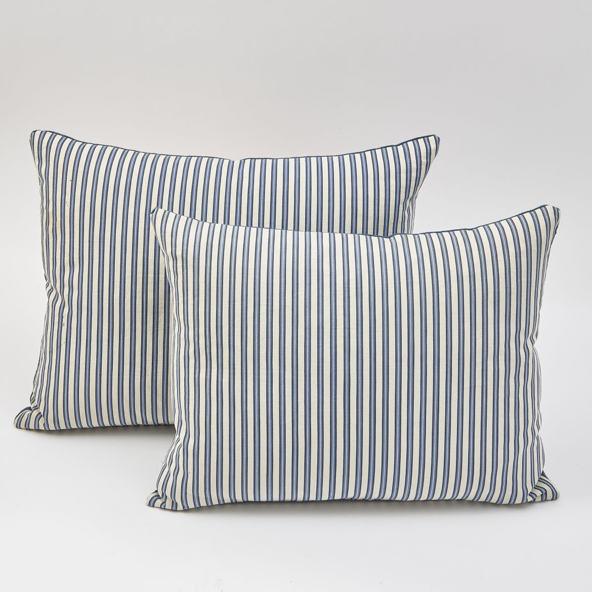19th Century Ticking Cushions