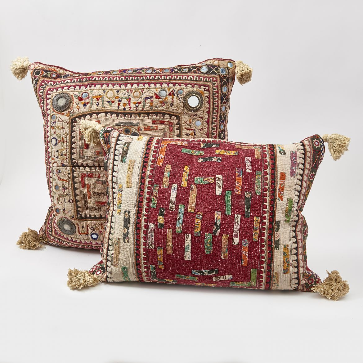 Indian Quilted Cushions