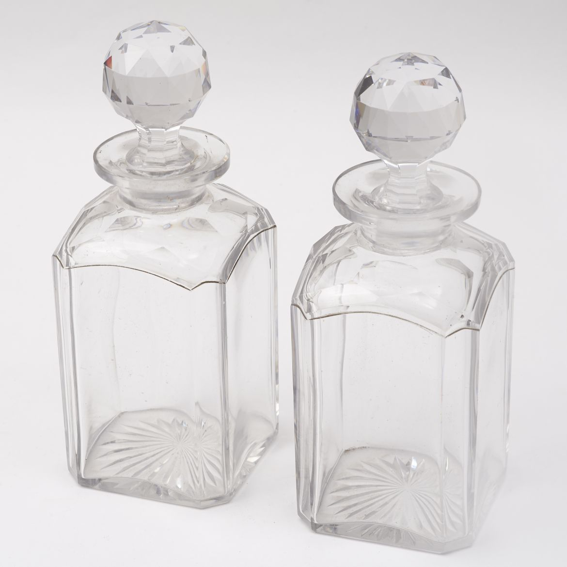 Edwardian Whisky Decanters