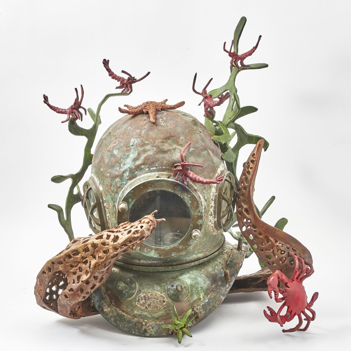 Paula Swinnen Japanese Diving Helmet