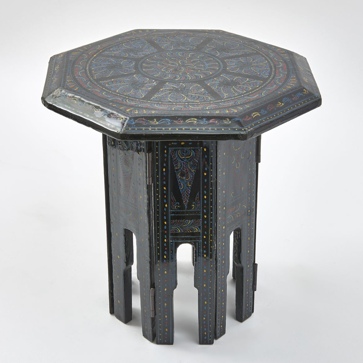 Small Lacquered Folding Table