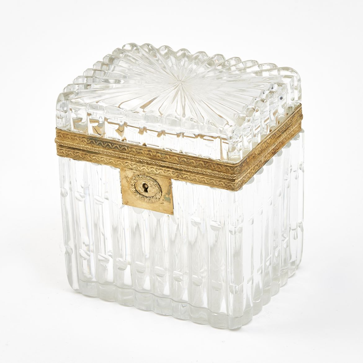 French Charles X Crystal Box