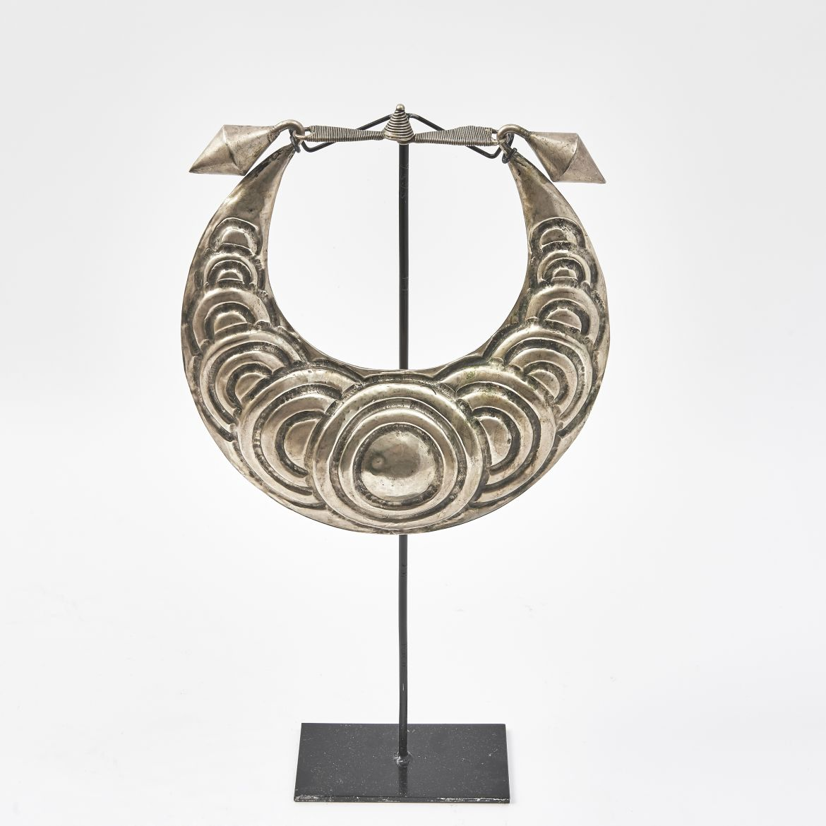 20th Century Chinese Metal Necklace