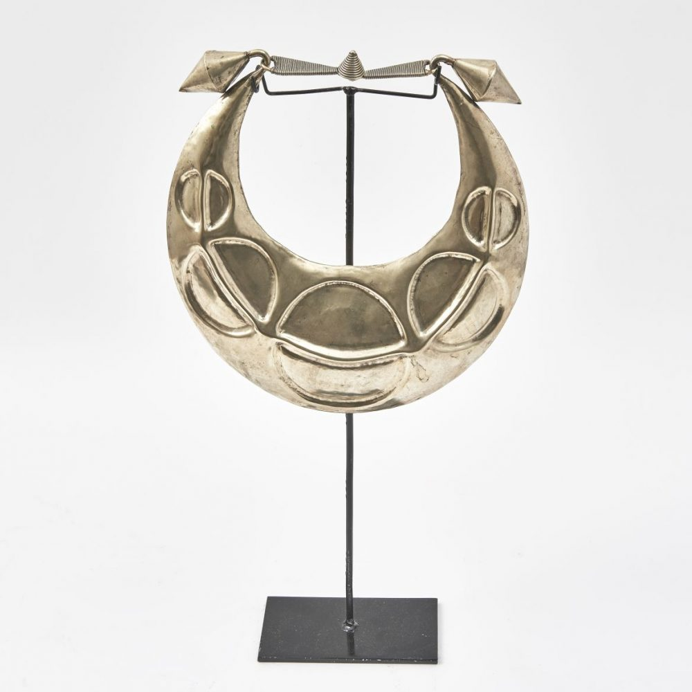 Pressed Metal Miao Necklace